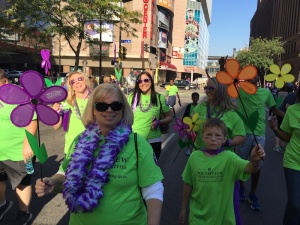 Walk to End Alzheimer's, 2015, Inver Glen Senior Living, Assisted Living, Memory Care