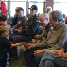 Veterans Day 2016, in honor of those who serve and have served, inver glen senior living mn,