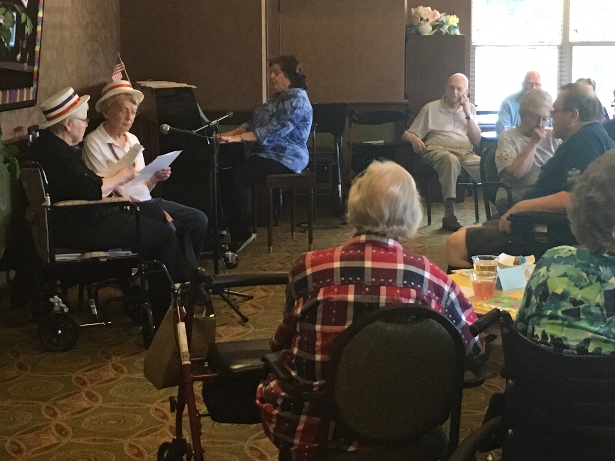 Karaoke Show! | Inver Glen Senior Living