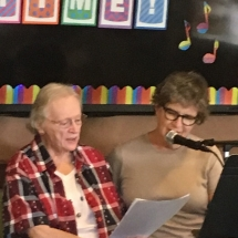 Karaoke Show-Inver Glen Senior Living -time for the girls duette