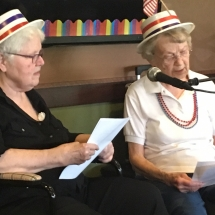 Karaoke Show-Inver Glen Senior Living-cute hats