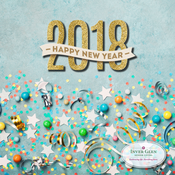 Happy New Year from Inver Glen Senior Living