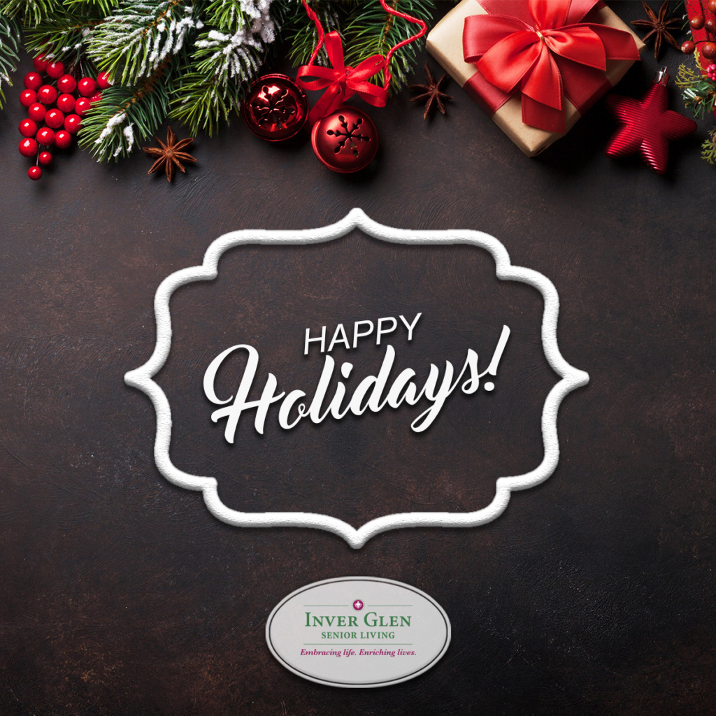 Happy Holidays from Inver Glen Senior Living