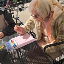Inver Glen Senior Living residents with All Seasons Preschoolers